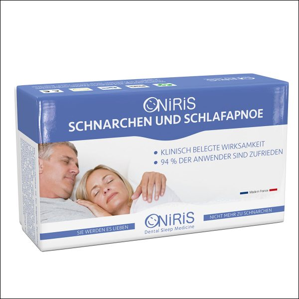 Oniris Protrusionsschiene Schlafapnoe schnarchen