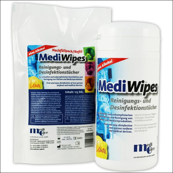 MediWipes Tücher CPAP Maske