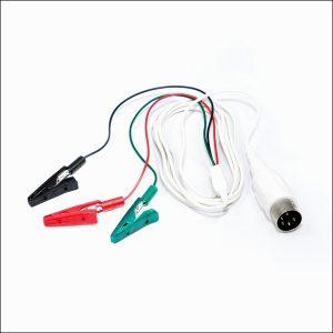 Anschlusskabel mit Krokodilklemmen, TAB Elektroden
