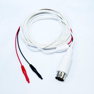 Adapterkabel 5 Pol. DIN Stecker, Klebeelektroden