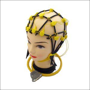 Comby EEG Haube, Größe S (47-52 cm Kopfumfang), gelb