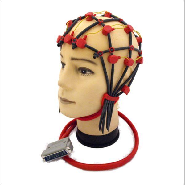 Comby EEG Haube, Größe M (52-57 cm Kopfumfang), rot