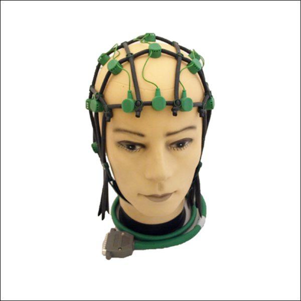 Comby EEG Haube, Größe L (57-62), grün