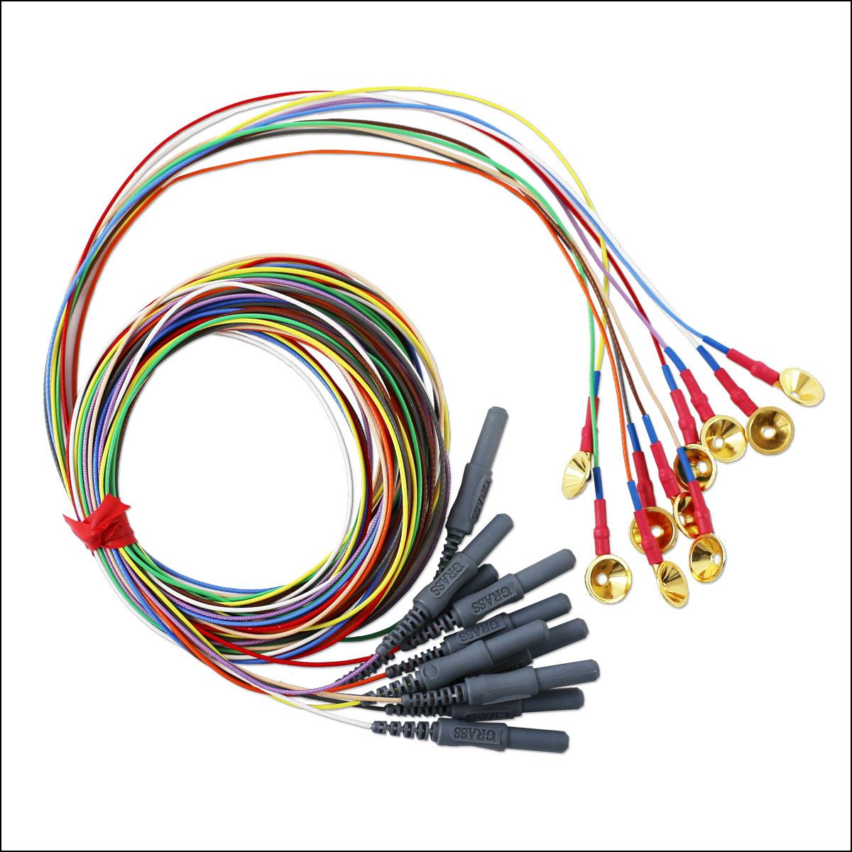 Grass Gold Cup EEG Elektroden