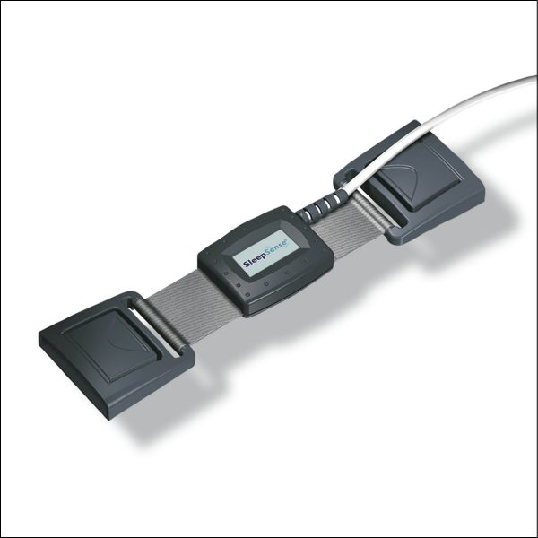 Atemanstrengung Piezo Sensor Brust-/Bauchatmungsset