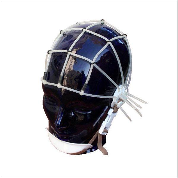 Silikon-Schlauchhaube, Nihon Kohden EEG Haube