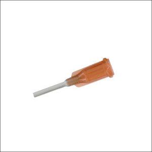 Stumpfe Nadel zum Einspritzen von Elektrogel
