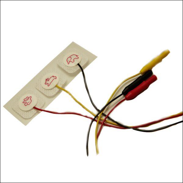 Röntgendurchlässige EKG Elektroden für Pädiatrie