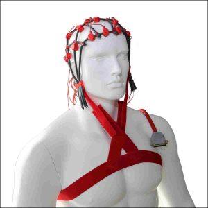 Brustgurt zur Fixierung von Comby EEG Hauben