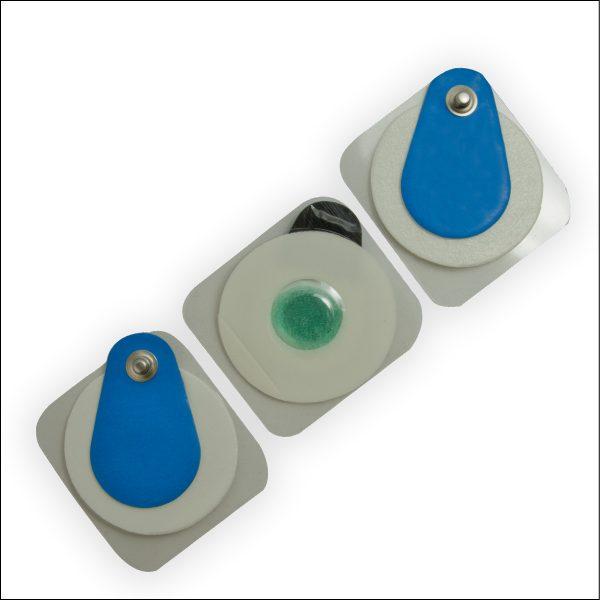 EKG-Klebeelektrode für Routine- und Langzeit-EKG