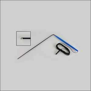 Disposable Ball Tip Bent Direct Nerve Stimulator Probe for IONM