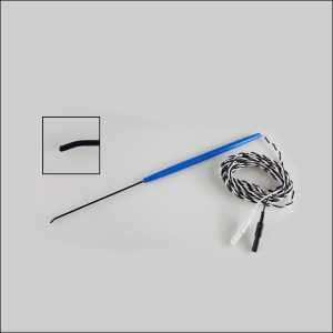 Disposable Bent Concentric Direct Nerve Stimulator Probe for IONM