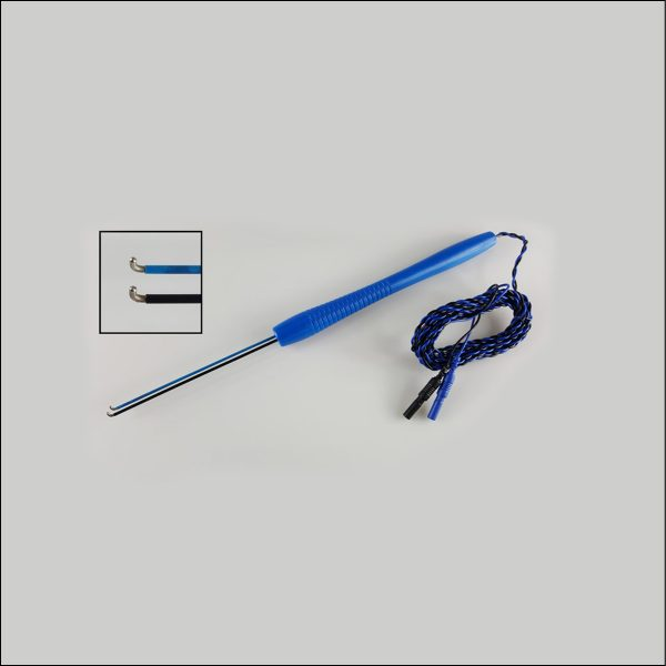 Disposable Right Angle Double Hook Stimulator Probe for IONM