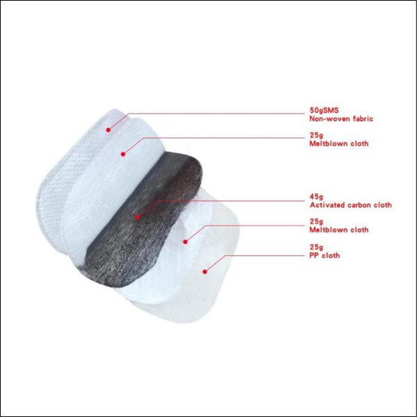 Filter for protective mask