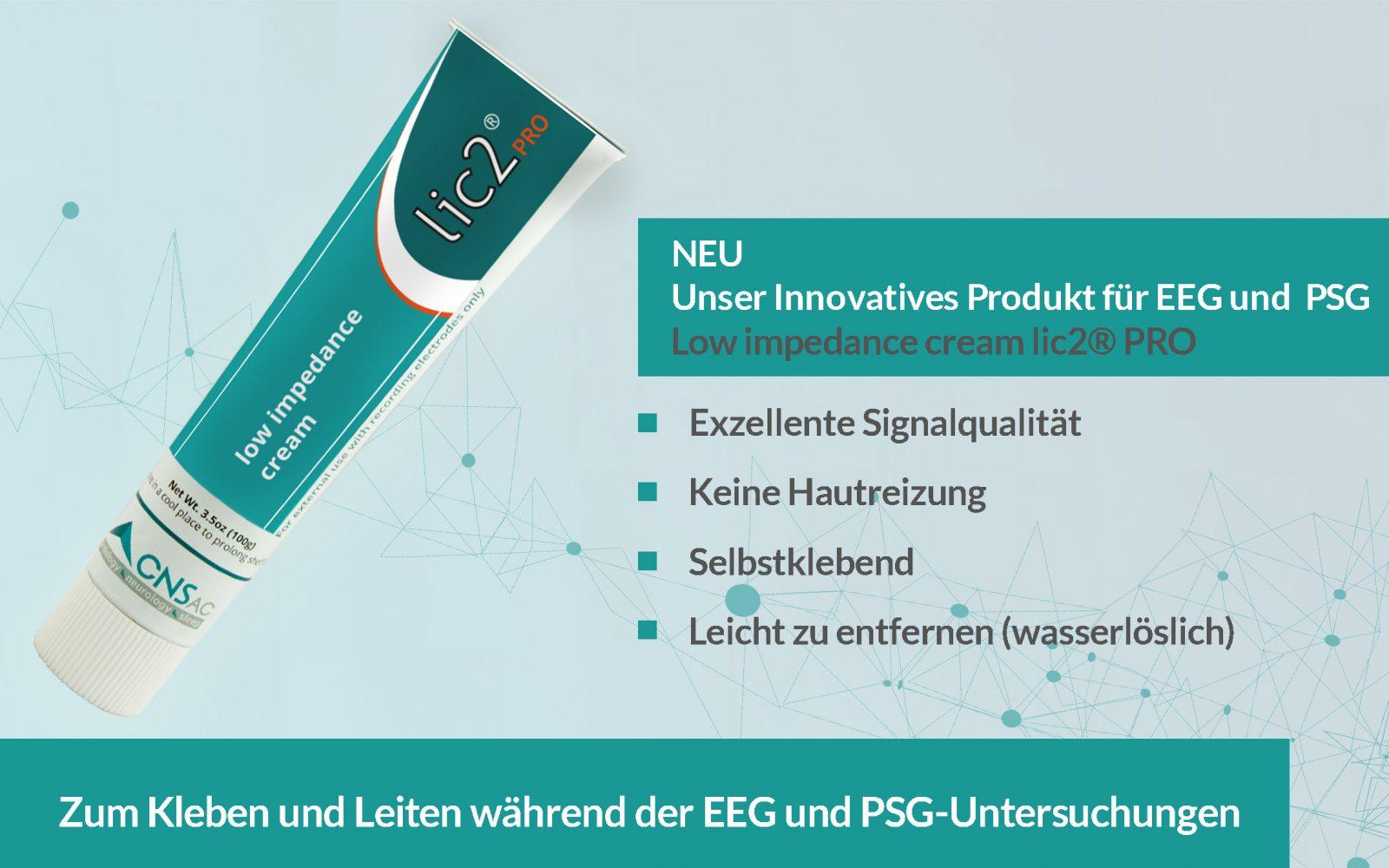 lic2 PRO Elektrodencreme CNSAC
