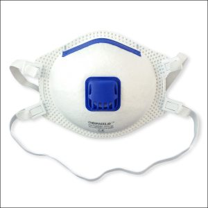 Valved Particle Filtering FFP3 Mask