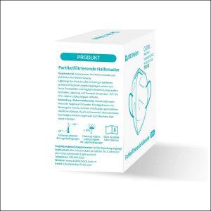FFP2 Mask mit CE Zertifizierung